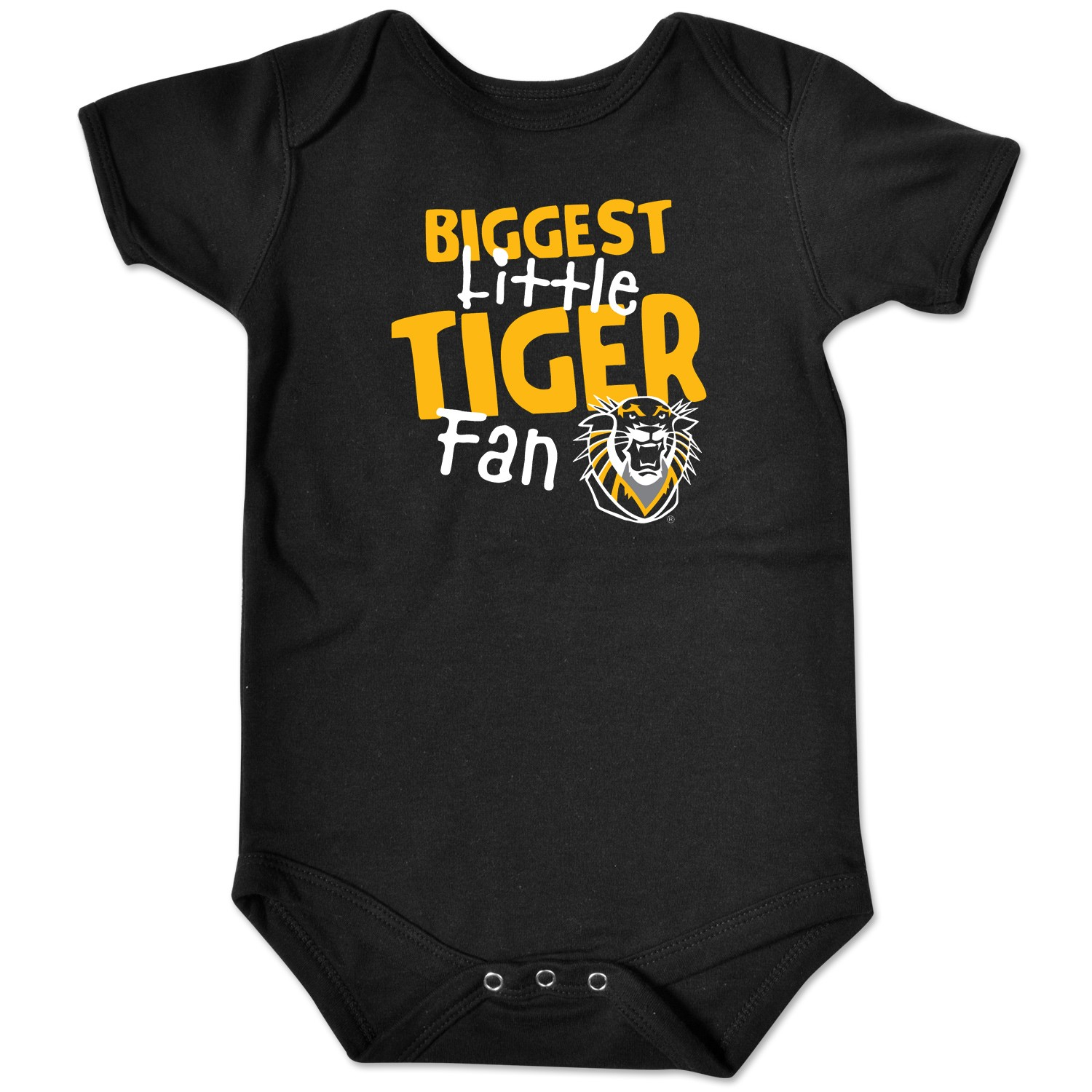 Alternative Image for the Infant Bodysuit, Biggest Little Tiger Fan with Mascot, College Kids product