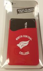 Image for the North Central College Single CC Holder Red Silicone product