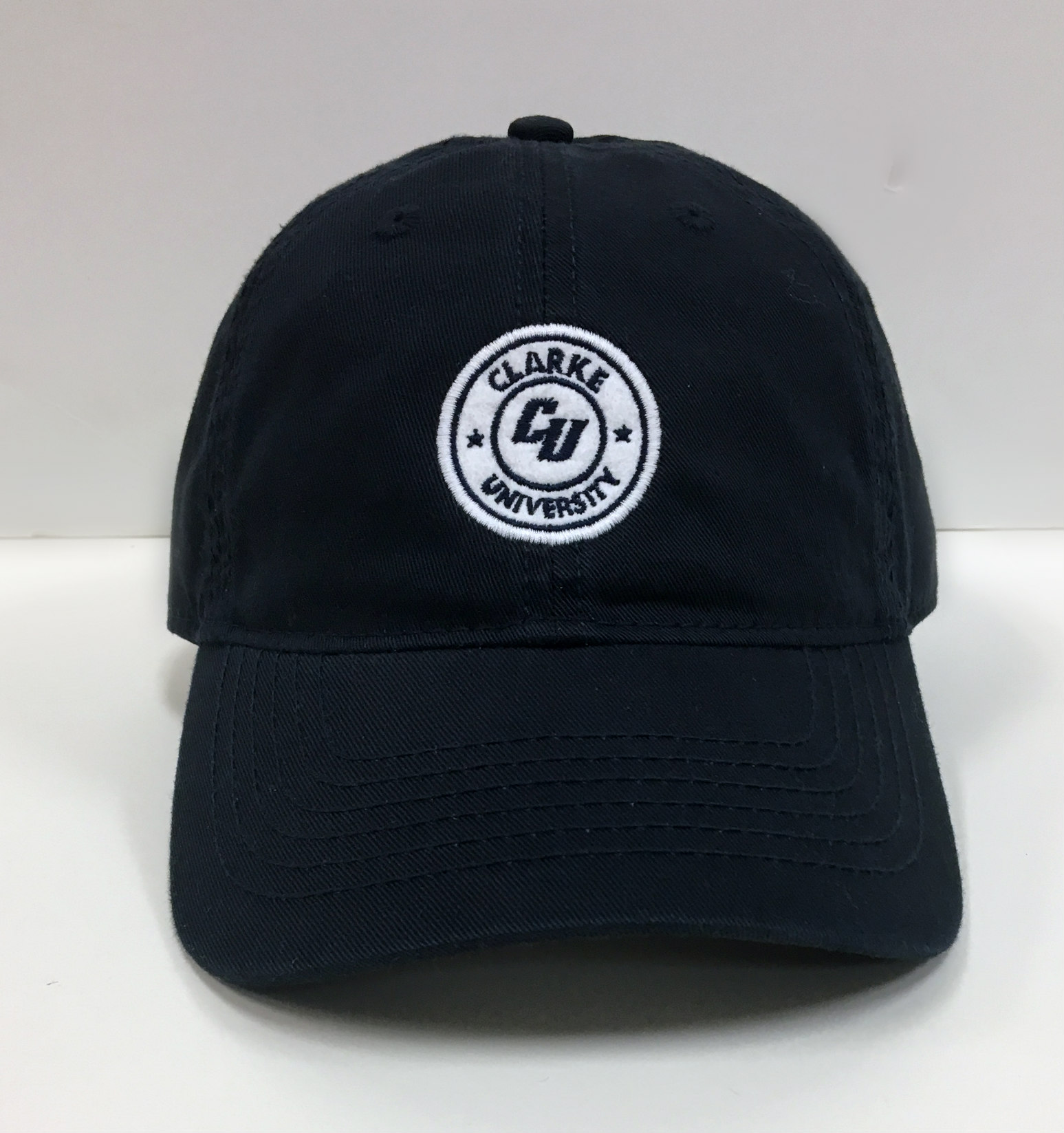 Image for the Women's Twill Hat Navy w/Felt CU product