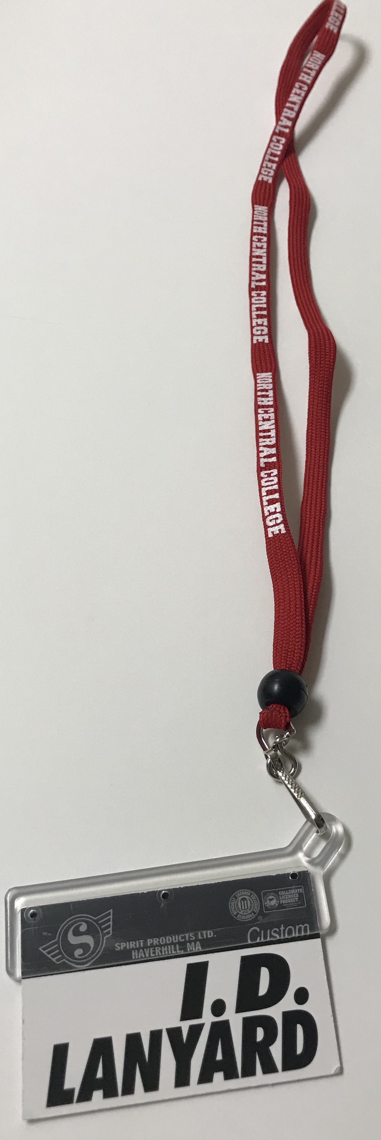 Alternative Image for the Shoelace Lanyard With ID Holder product