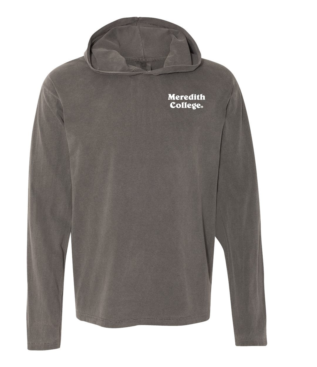 Alternative Image for the Comfort Colors Long Sleeve Hooded Tee Pepper Summit Sportswear product