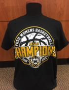 Image for the Women's Basketball MIAA Conference Champions Tee, Black, Redeem Designs product