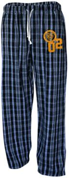 Image for the Campus Plaid Flannel Pant 1-3C Black/Grey, U-Trau product
