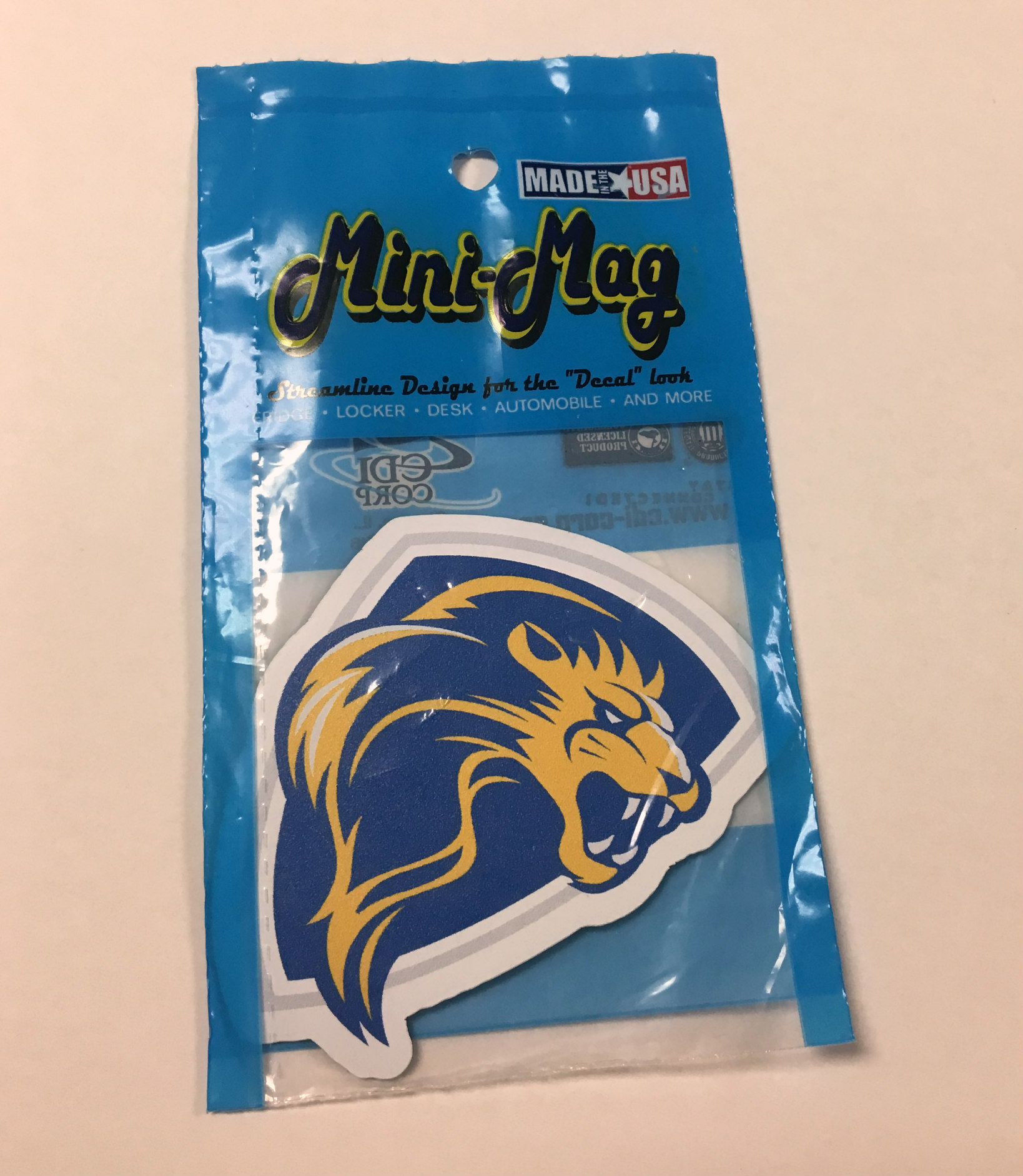 Image for the ColorShock Lion Shield Magnet product