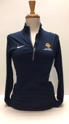 Image for the 1/4 zip navy pull-over, Dri-Fit product