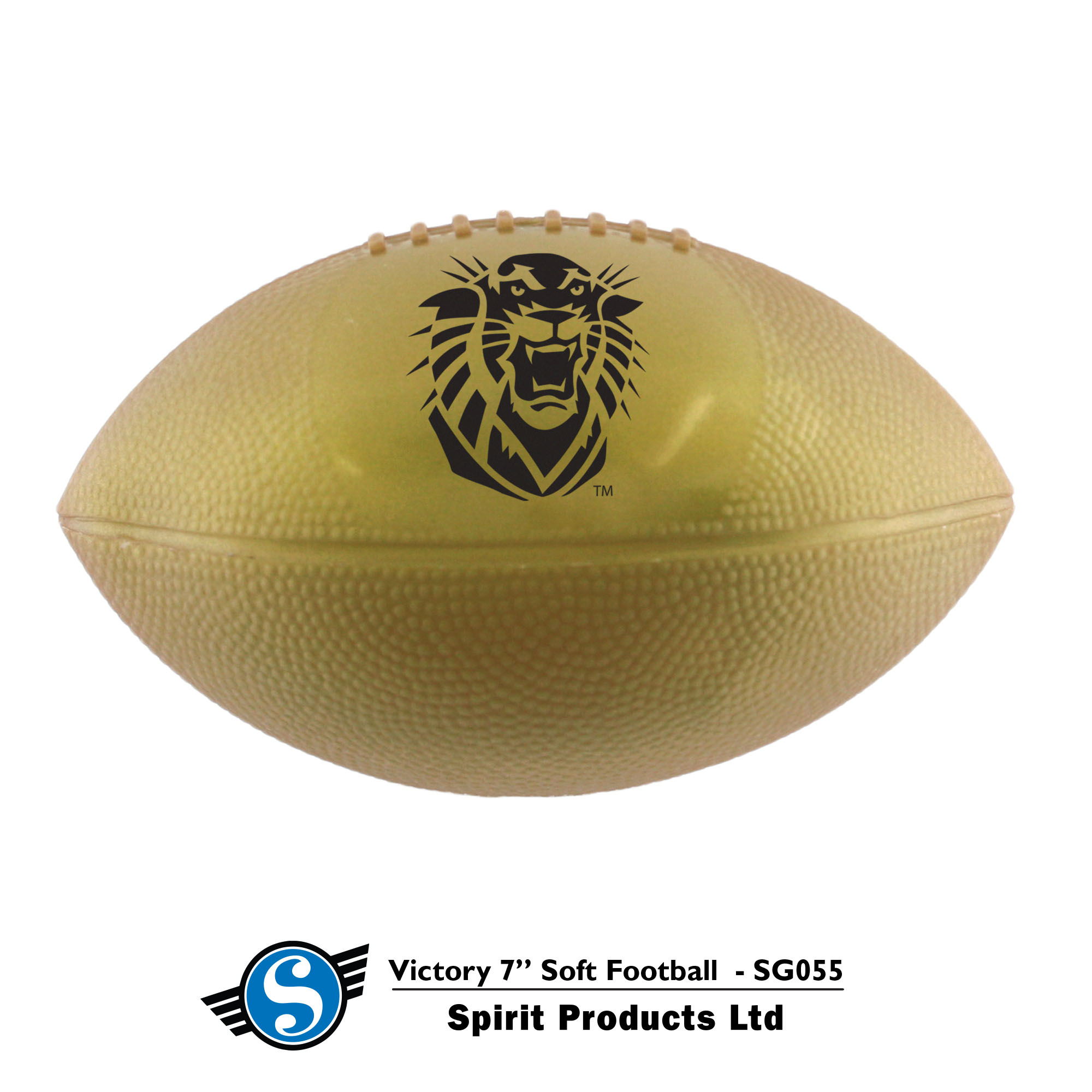 Image for the Victory Soft Sports Ball, Metallic Gold, Spirit Products product