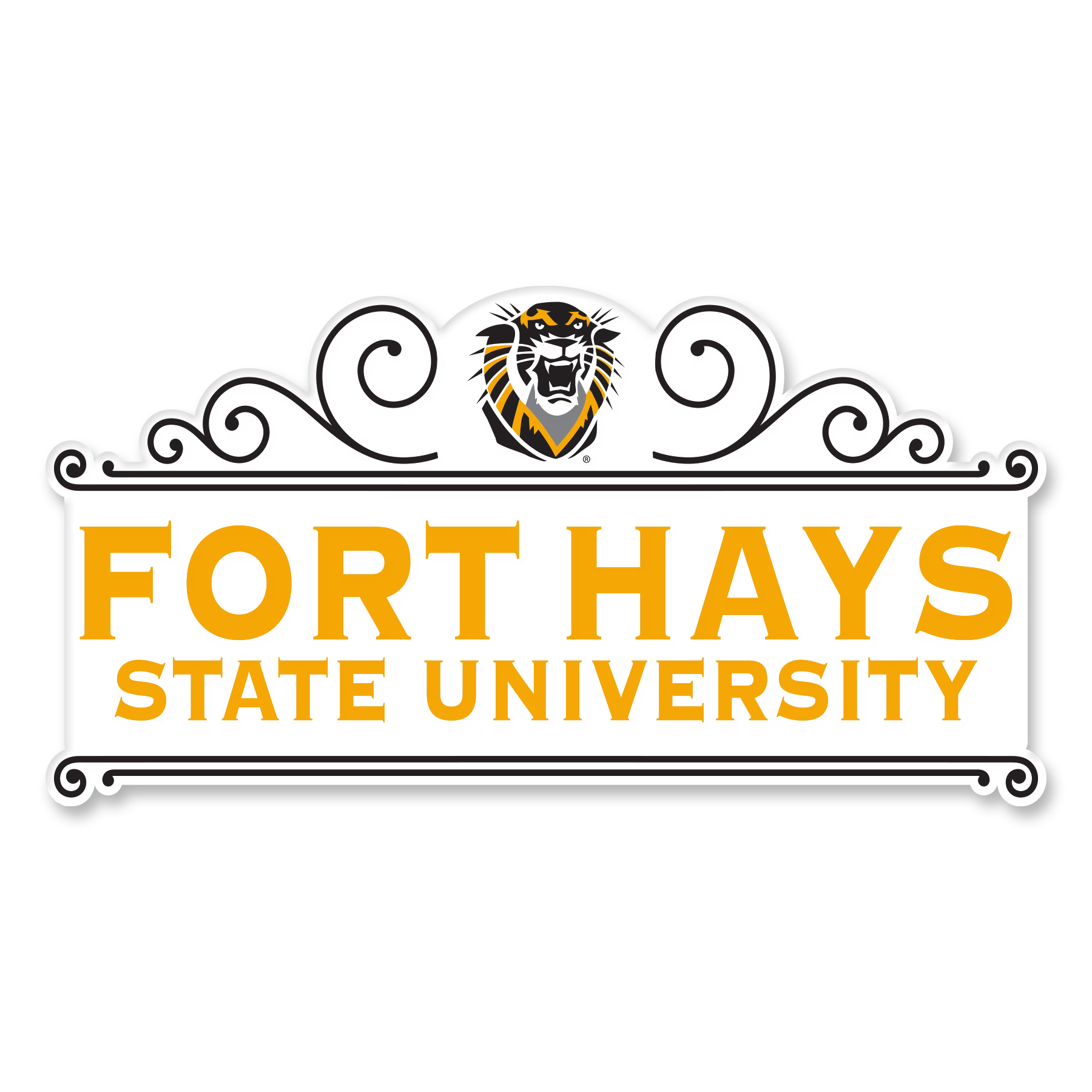 Image for the FHSU Recycled Wood Magnets, Neil product