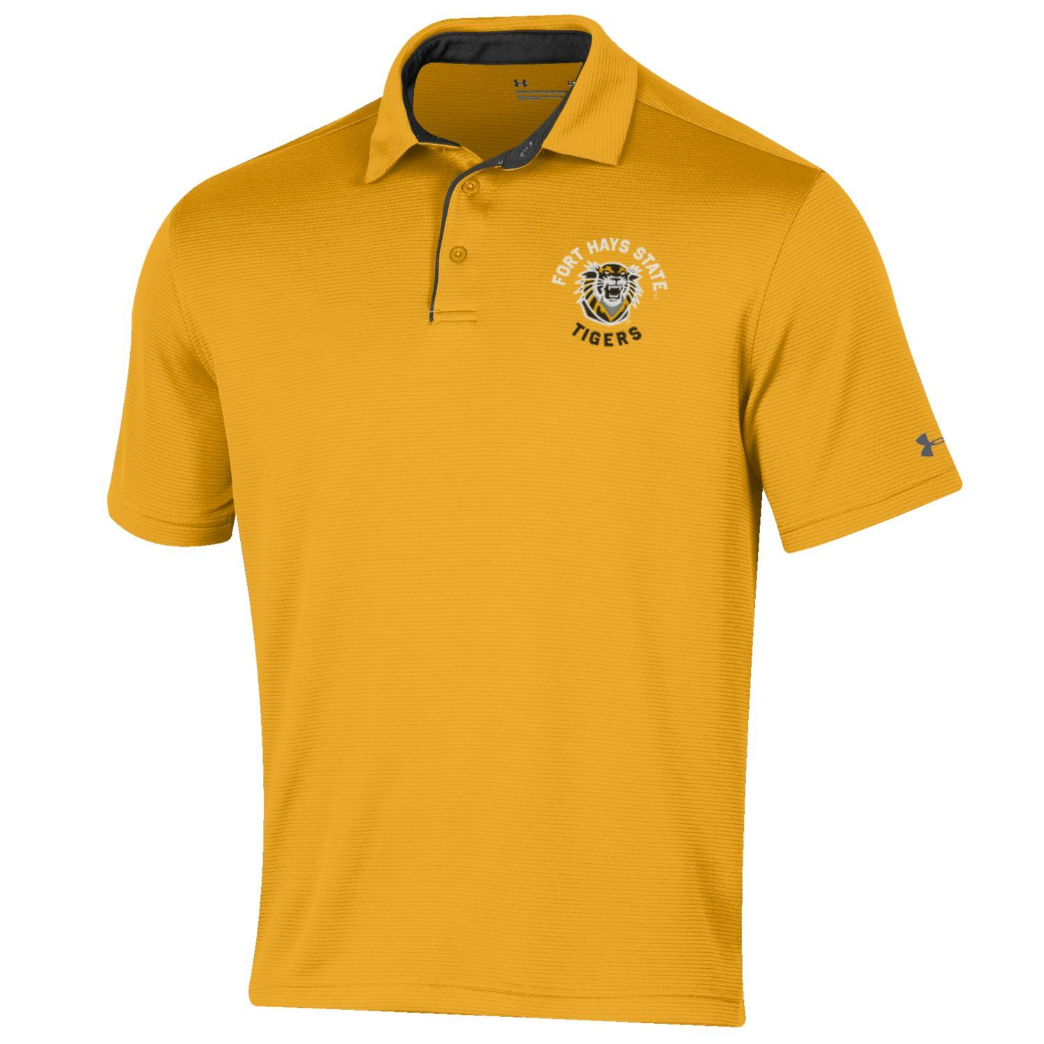 Image for the Fort Hays State University Polo, Steeltown Gold, Under Armour product