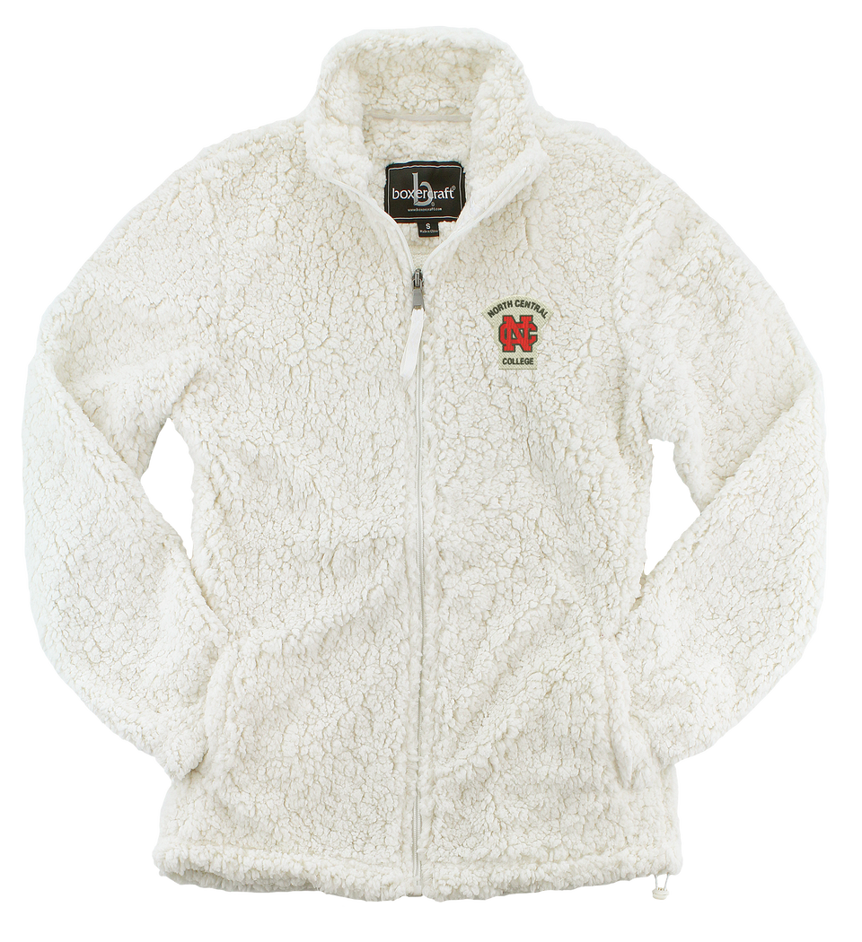 Alternative Image for the Ladies Sherpa Jacket Full Zip by Boxercraft product