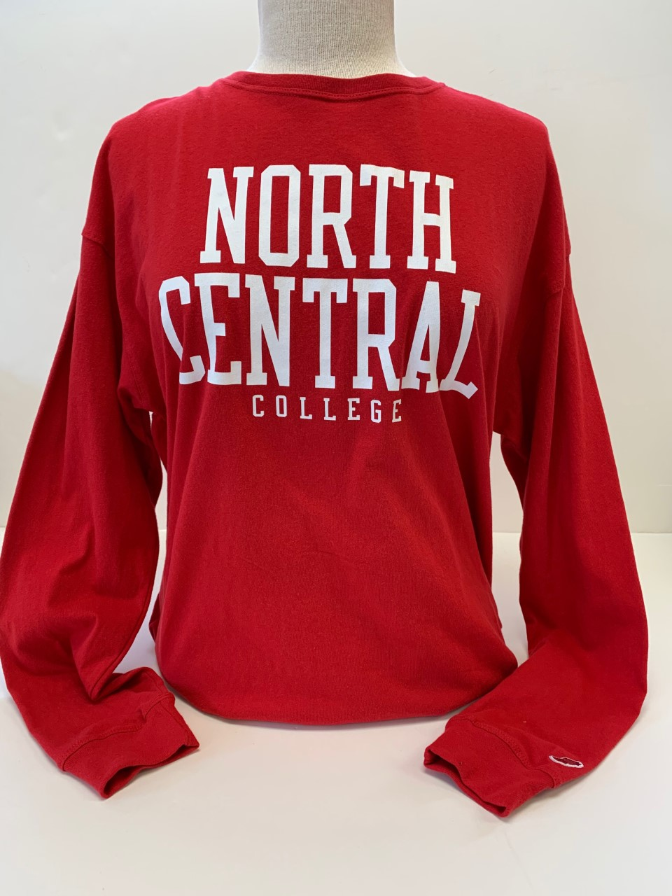 Image for the North Central College Clothesline Cotton Long Sleeve Tee w/School Name by League product