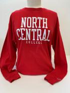 Image for the League Clothesline Cotton Long Sleeve Tee w/School Name product