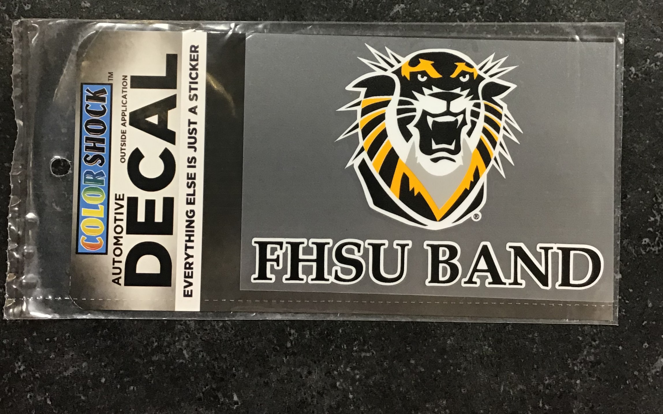 Image for the FHSU Band Decal; Color Shock product