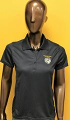 Image for the Women's Pique Polo, Black product