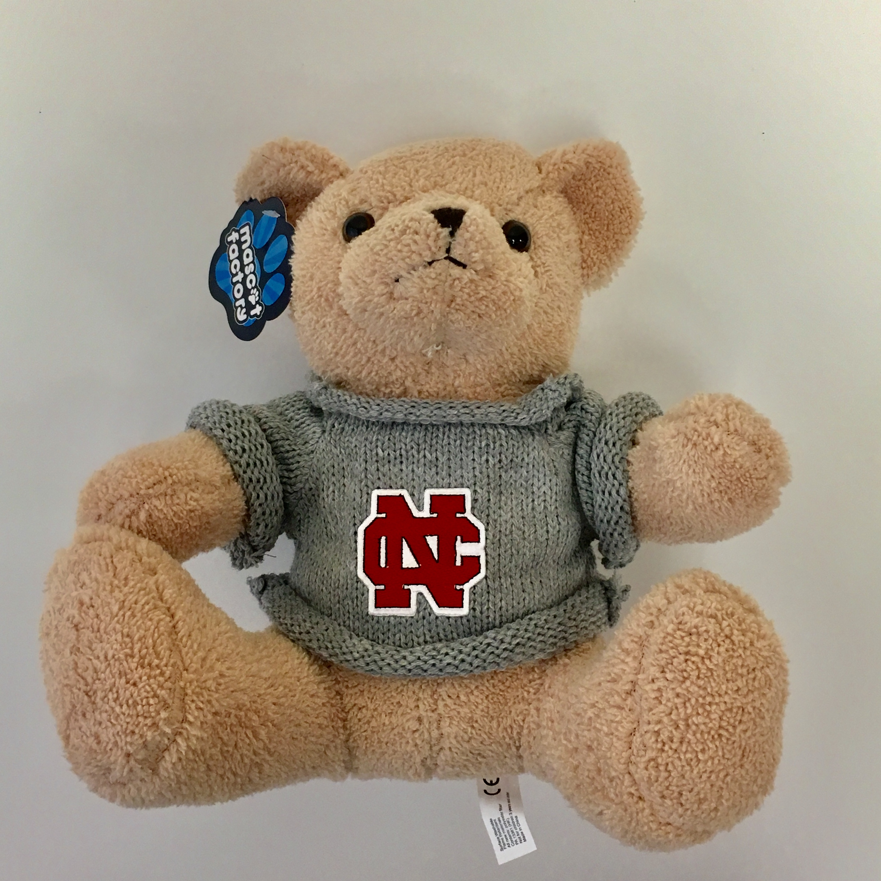 Image for the Theodore Bear w/ Grey Sweater product