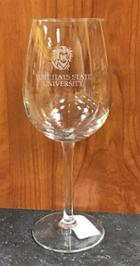 Image for the Stemmed Wine Glass 16 oz. Campus Crystal product
