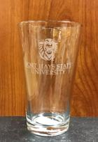 Image for the Pint Glass 16 oz. Campus Crystal product
