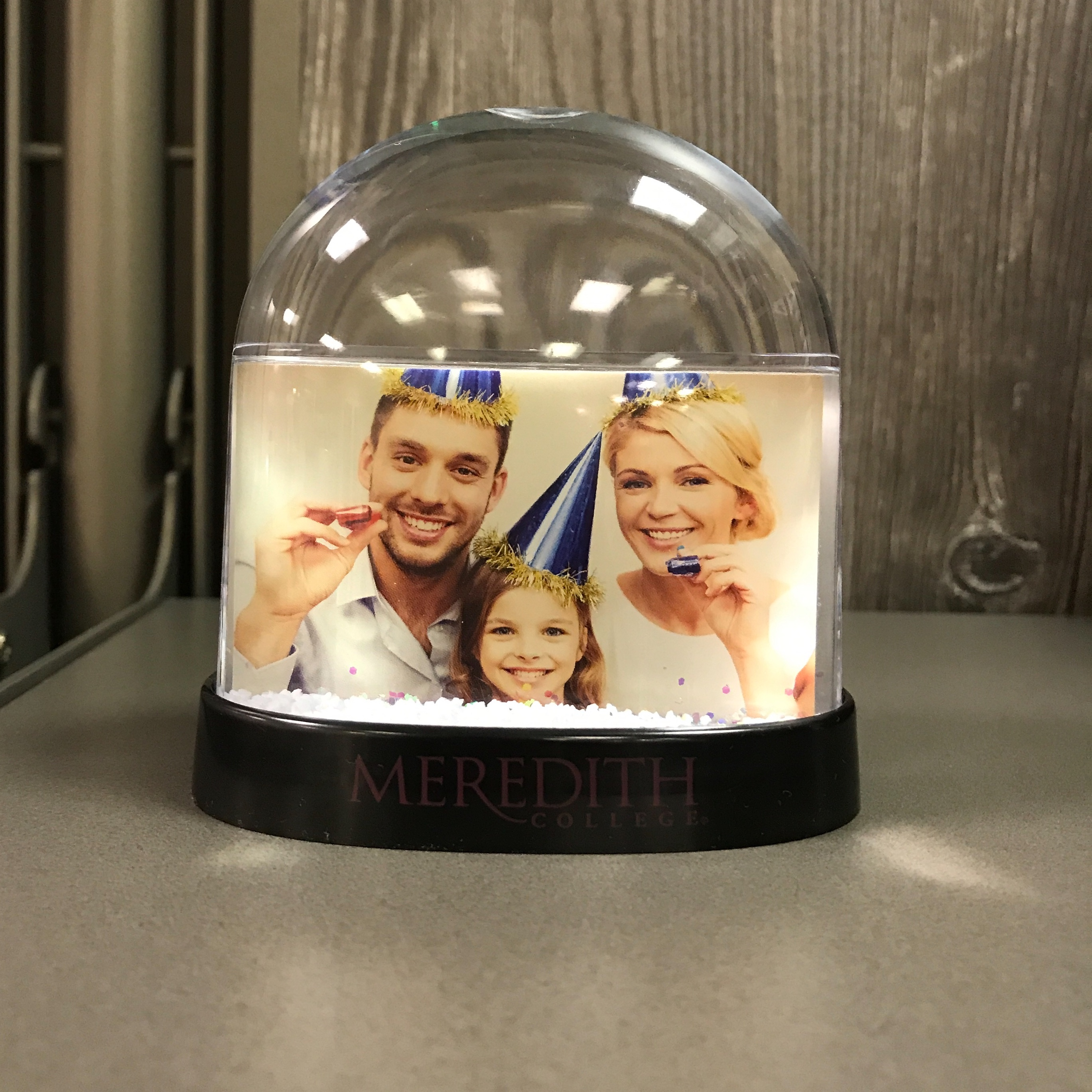 Image for the Snow Globe Horizontal Photo Frame product
