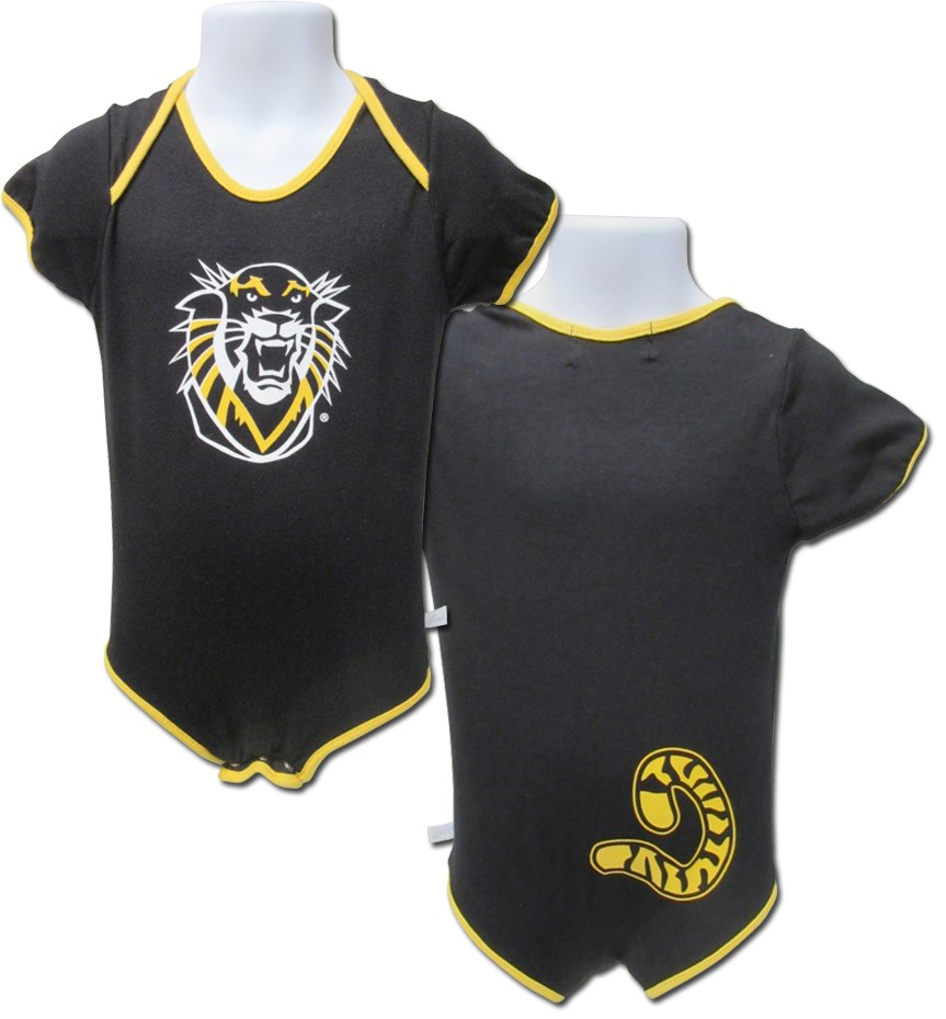 Image for the Tiger Tail Onesie, Black, Third Street Sportswear product