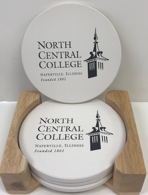 Image for the 4 pack Coaster Set w/Old Main Logo product