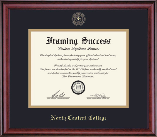 Image for the Classic Gold Diploma Frame by Framing Success product
