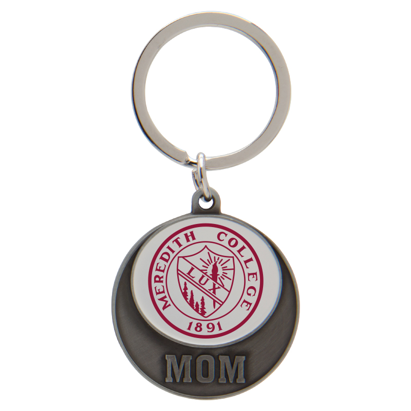 Image for the Key Tag White with Seal, Mom and Dad product