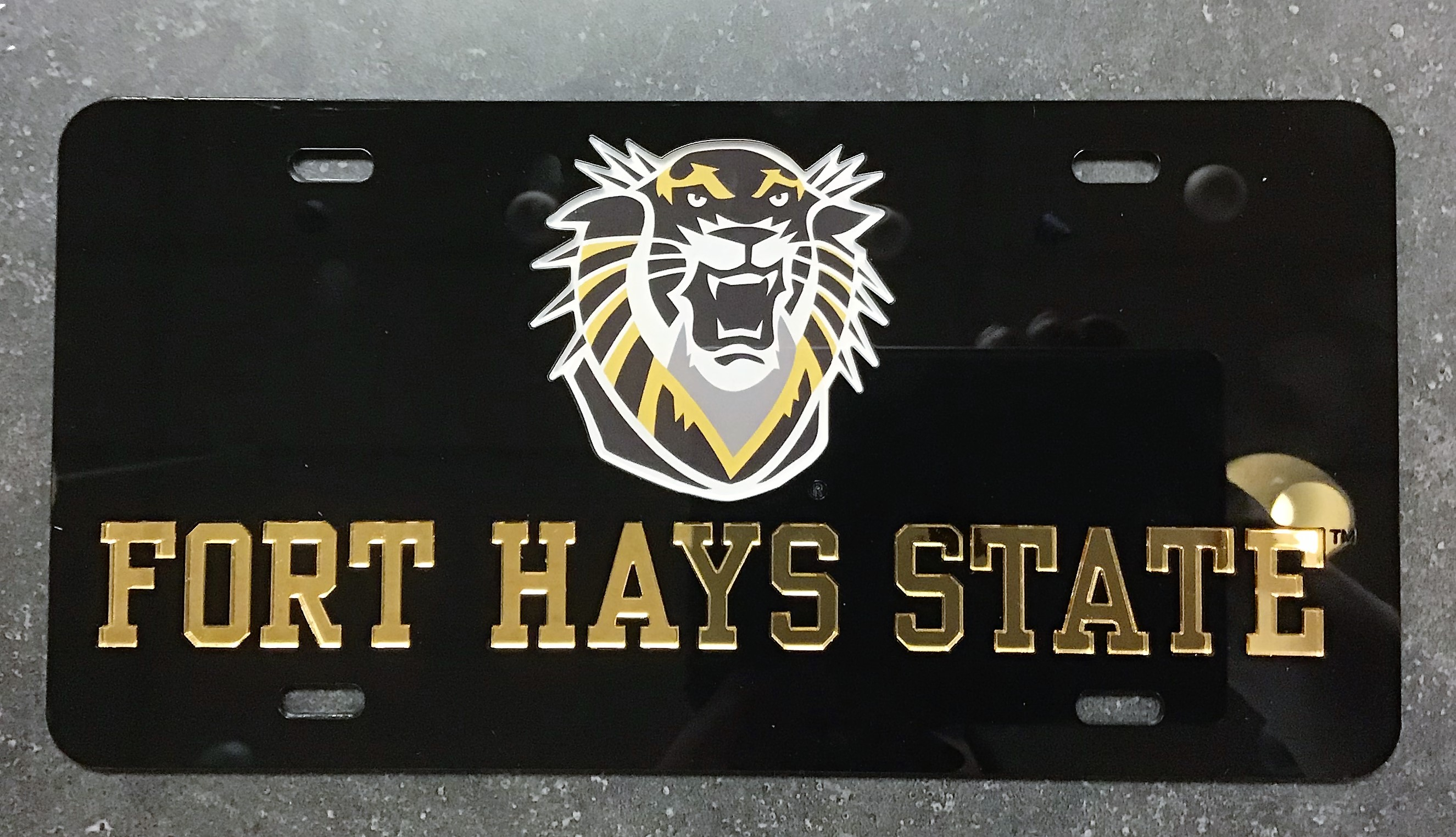 Alternative Image for the License Plates FHSU Tiger product