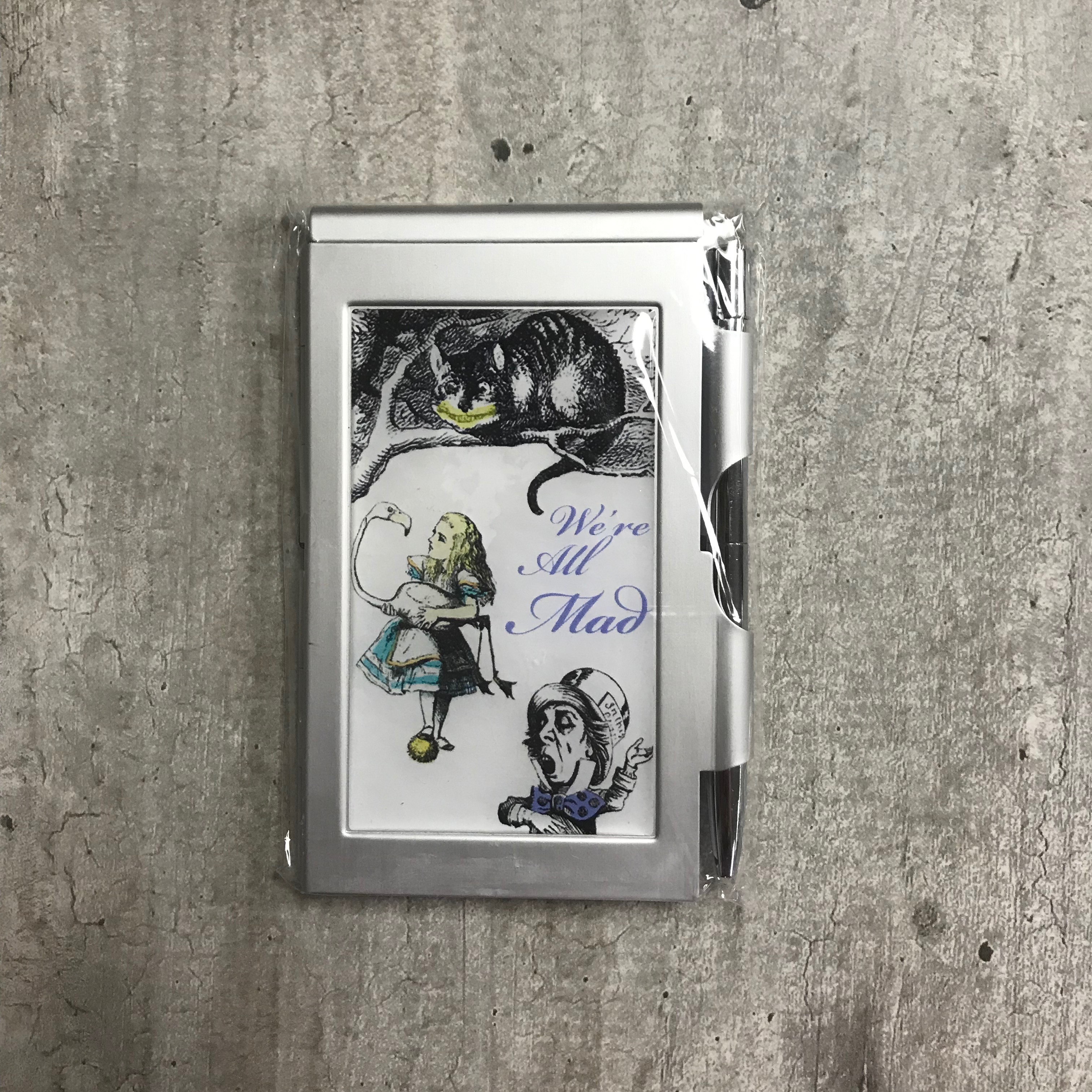 Image for the Flip Note Pad, Alice in Wonderland Designs product