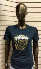 Image for the Women's Gold Foil Tiger Tee product
