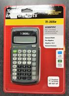 Image for the Texas Instruments Scientific Calculator, TI-30Xa, 1-Line Display, Battery Powered, 000096898 product