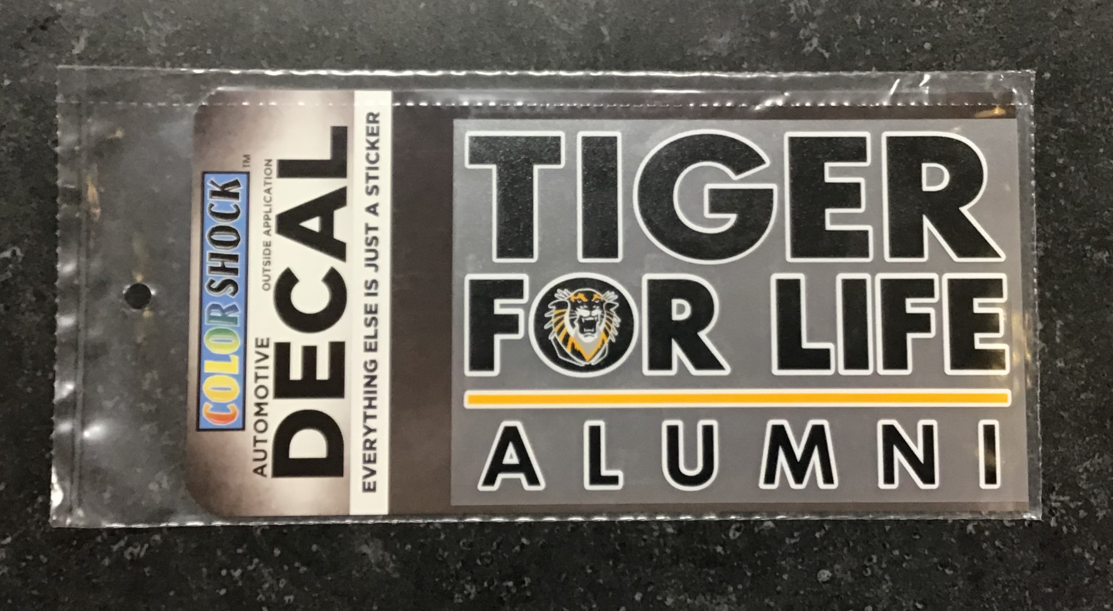 Image for the Tiger for Life Decal product