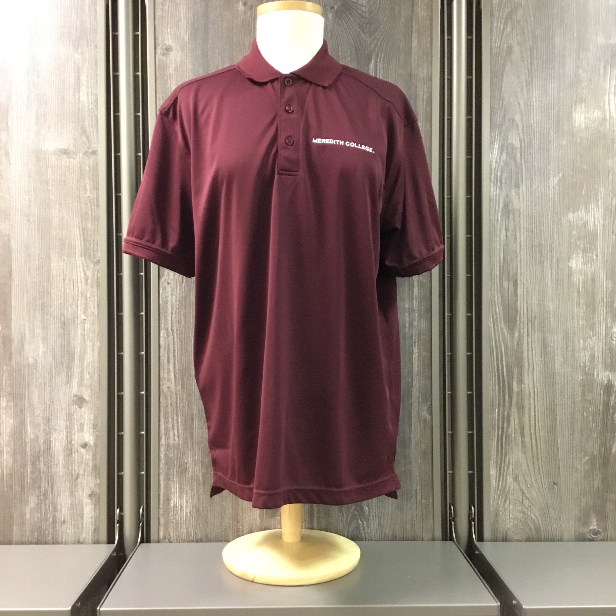 Image for the Men's Oslo Pique Polo Burgundy Cutter & Buck product