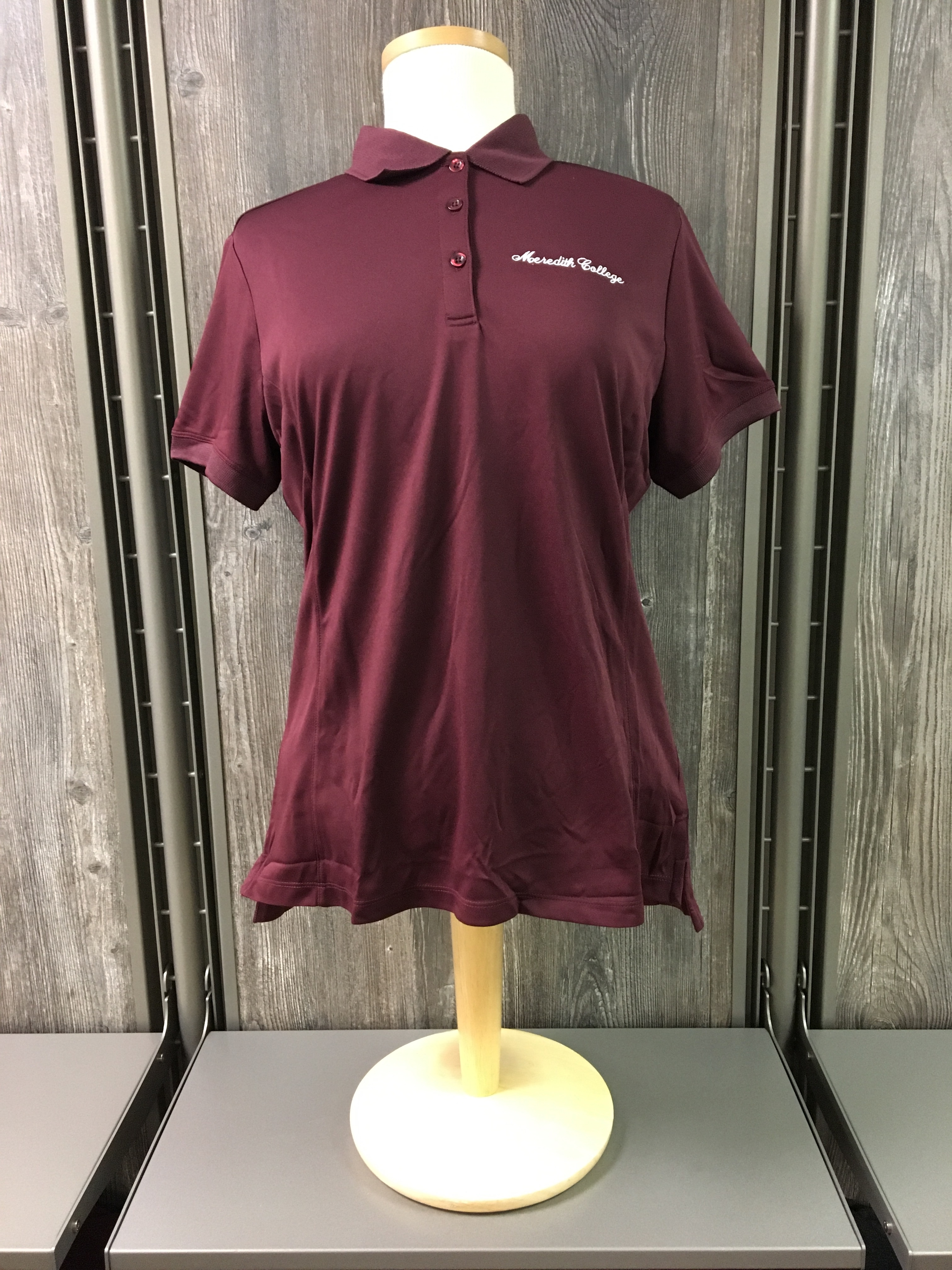 Image for the Women's Oslo Pique Polo Burgundy Cutter & Buck product