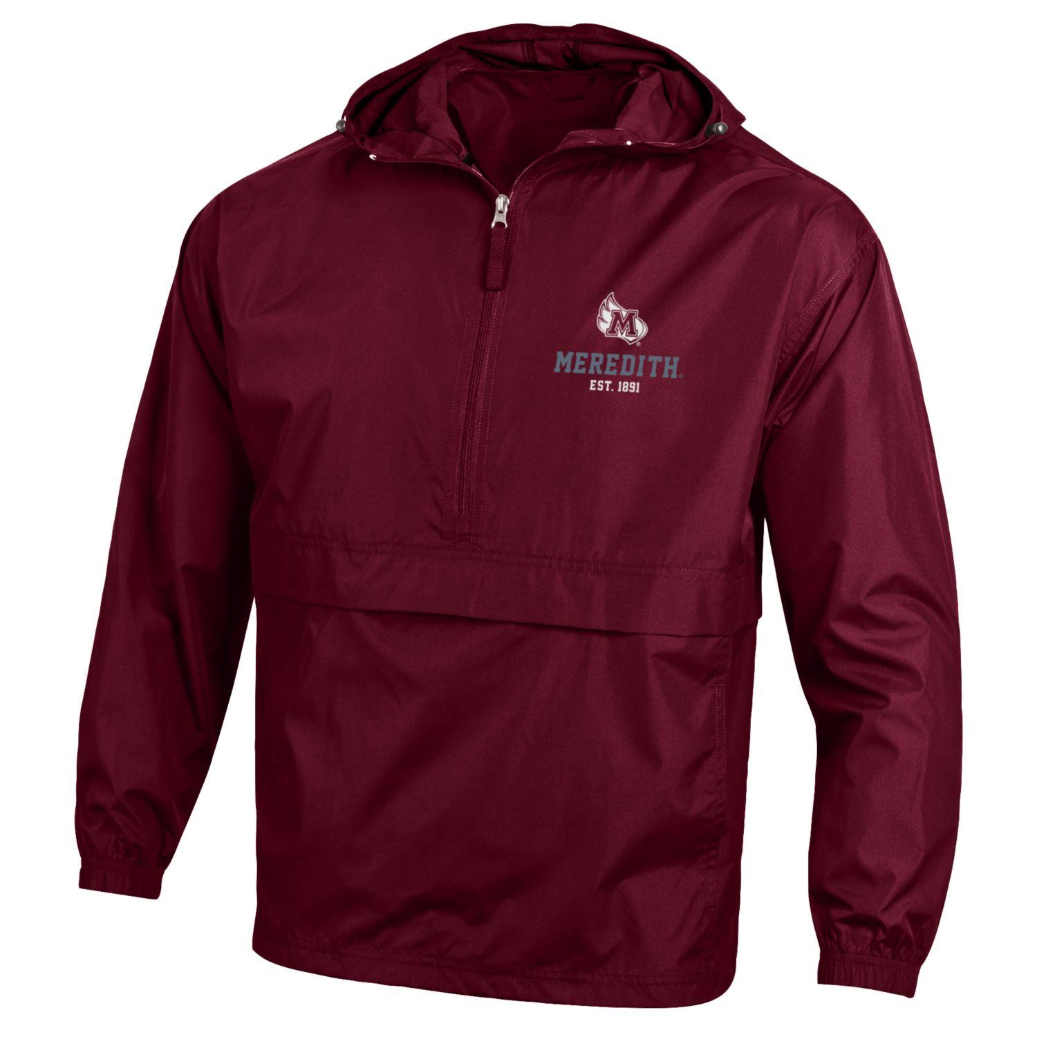 Image for the Packable Jacket 1/2 Zip, Maroon, M-Wing product
