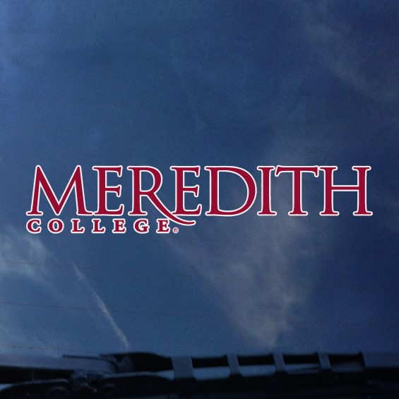 Image for the Decal, Meredith College product