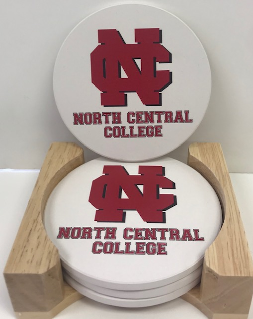 Image for the 4 pack Coaster Set w/NCC Logo product