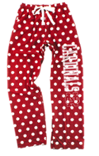 Image for the Flannel Pant Red/White Dot by Boxercraft product