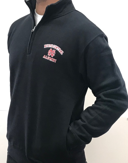 Image for the Big Cotton Alumni 1/4 Zip product