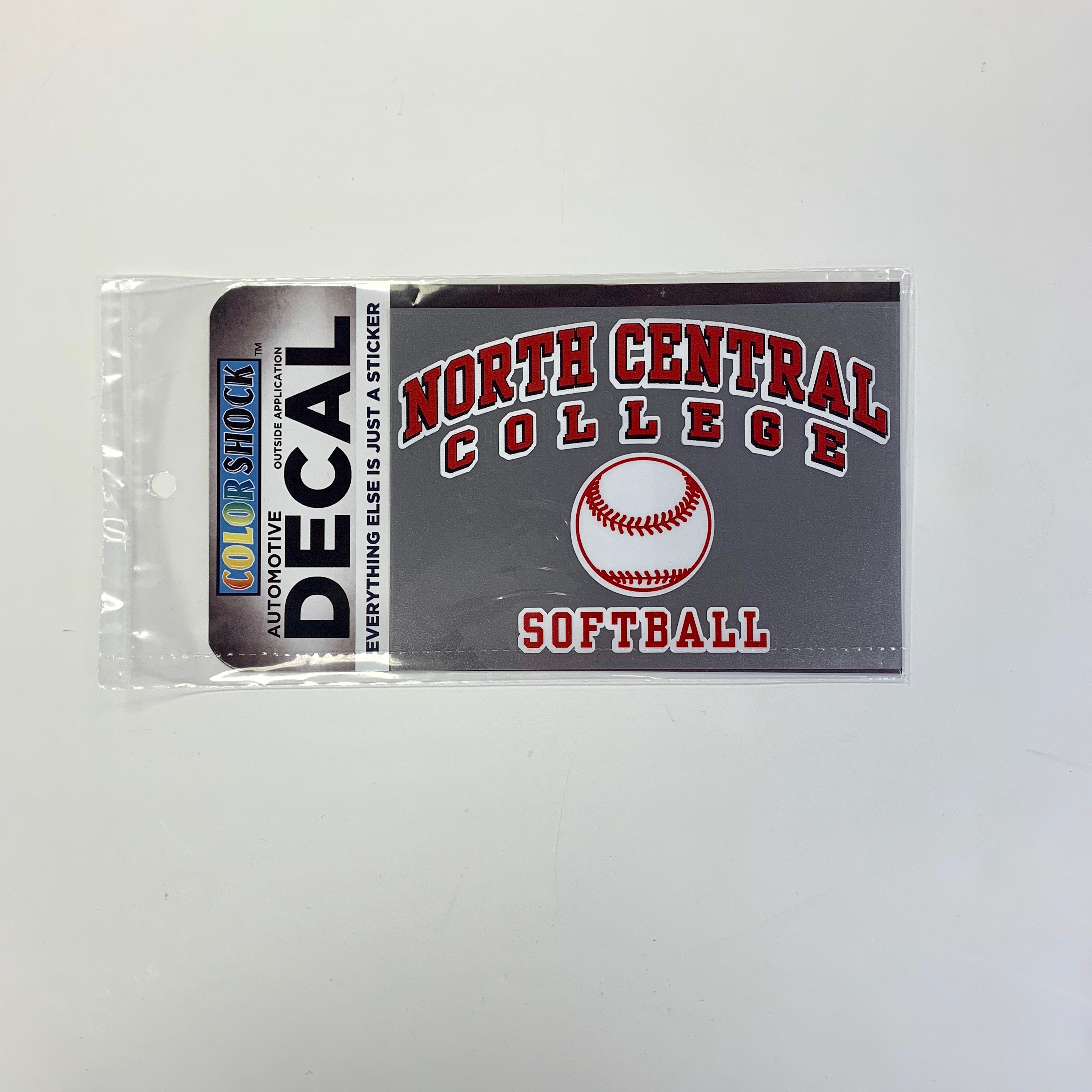 Image for the Softball Decal (ColorShock) product