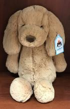 Image for the Plush Puppy, Toffee, JellyCat Medium BAS3TPUS product