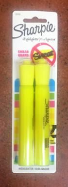 Image for the Sharpie Highlighter, Yellow, 2/pk product