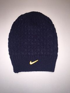 Image for the Nike Womens Slouchy Beanie Navy product