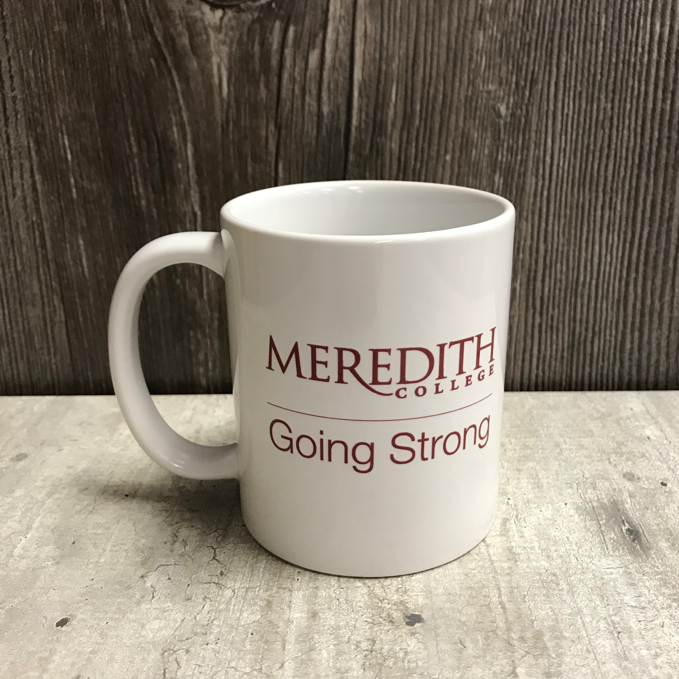 Image for the White Mug, Meredith College Going Strong product