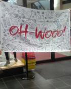 Image for the OH WOOOO! 3'X5' FLAG 2 Sided product