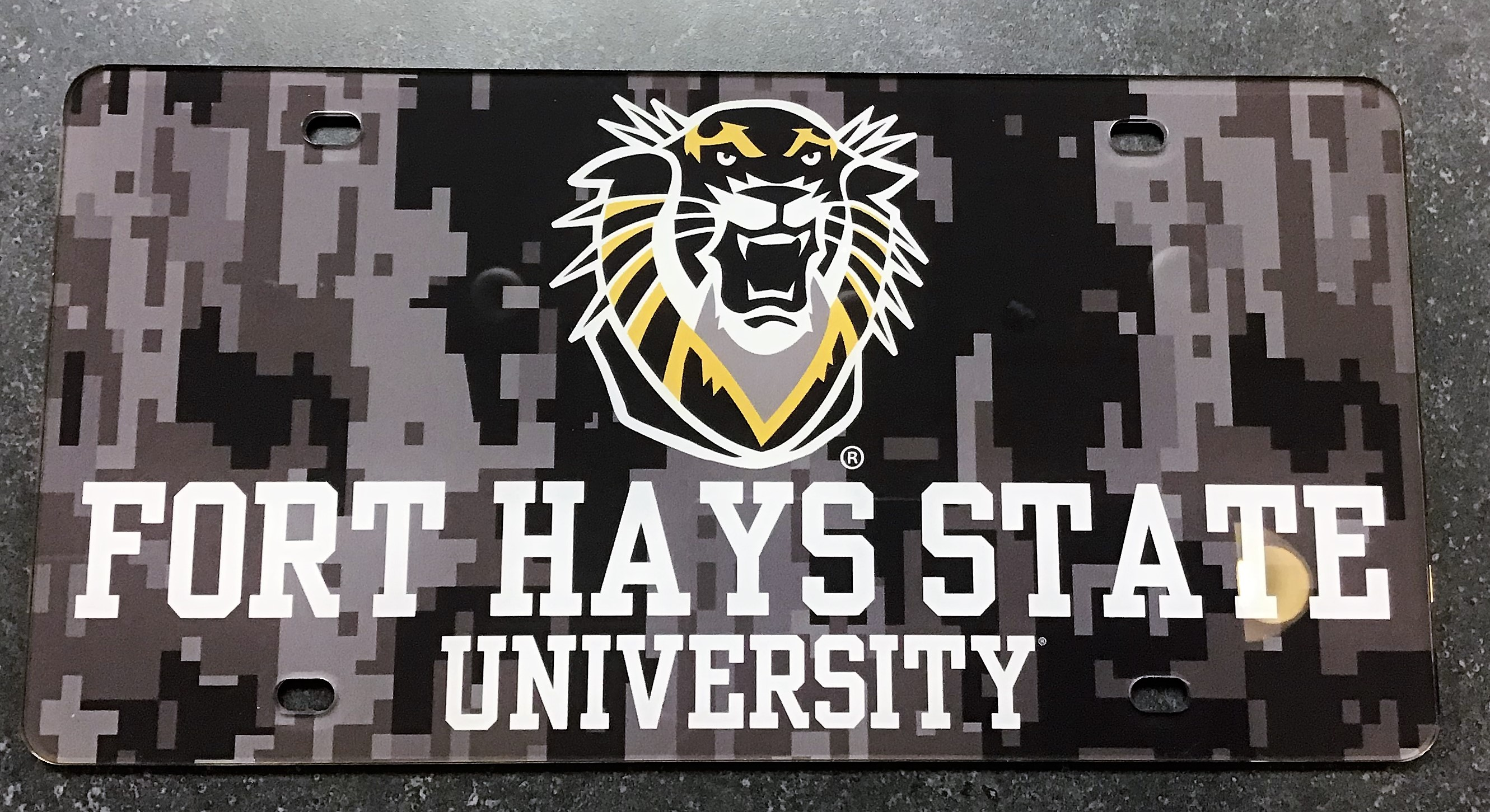 Image for the License Plates FHSU Tiger product