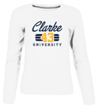 Image for the Women's LS White T-shirt Clarke 43 Russell product