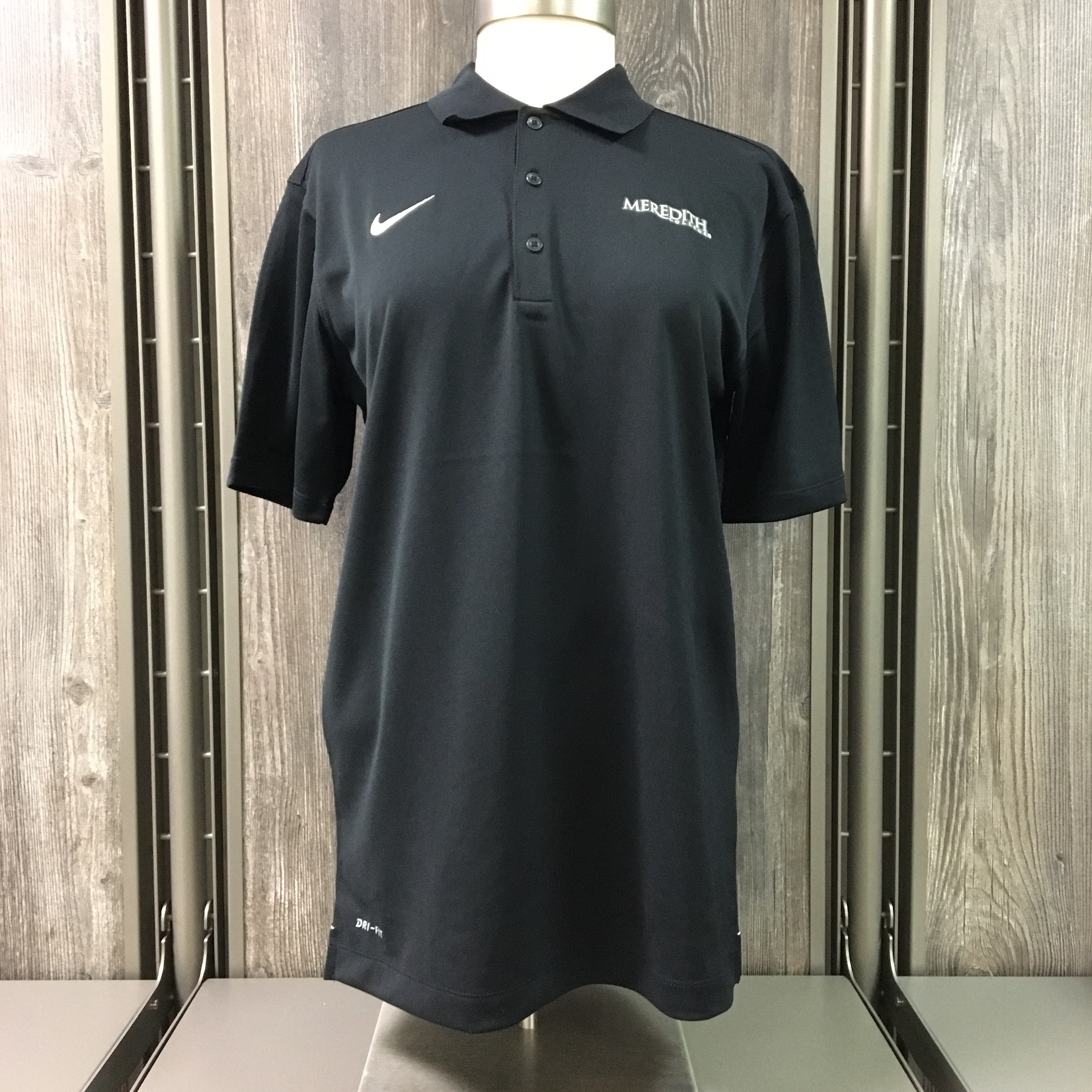 Image for the Men's Varsity Performance Polo, Black product