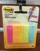 Image for the Post-It Page Markers, Asst. Colors, 5/pk product