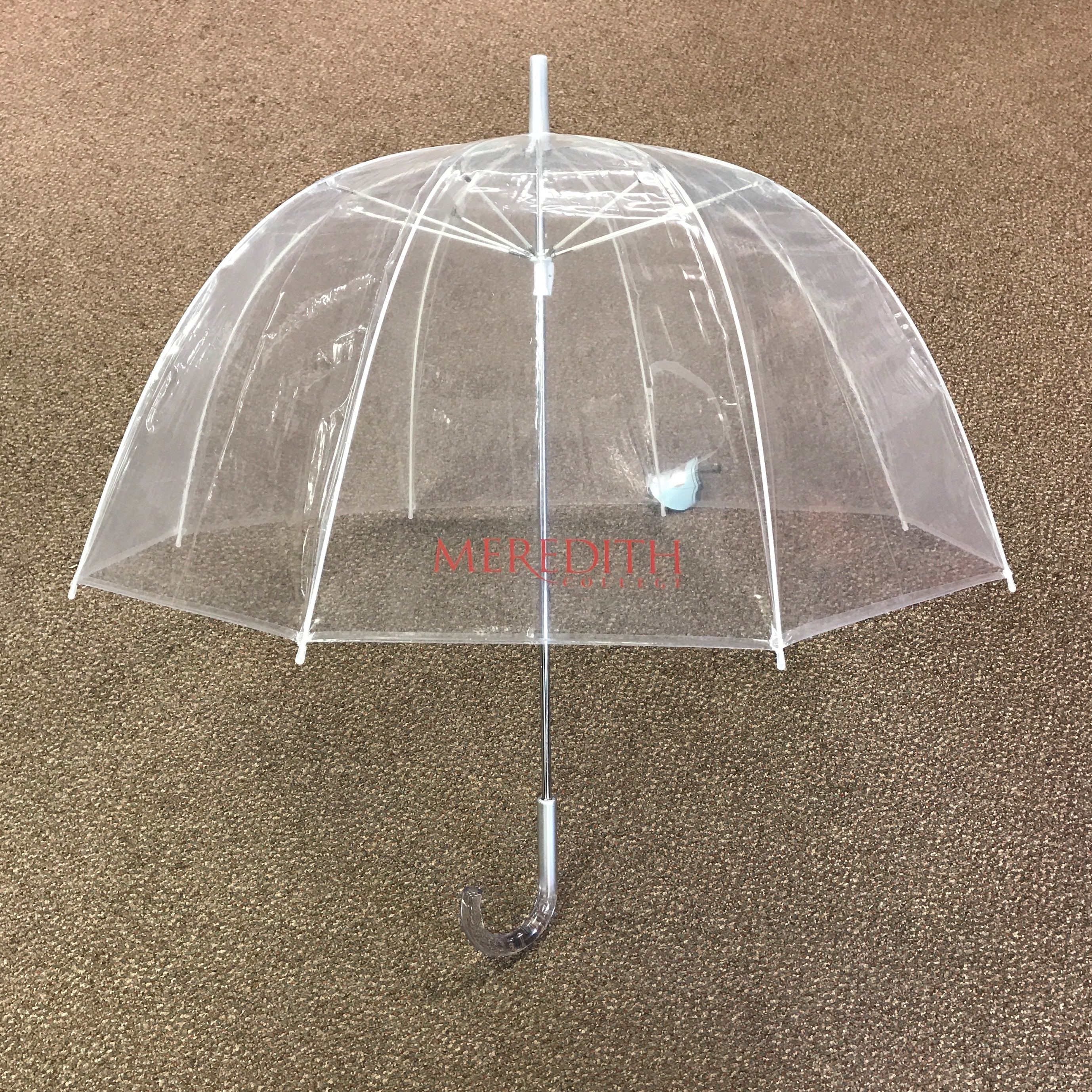 Image for the Umbrella Jardine Bubble Clear Logo product