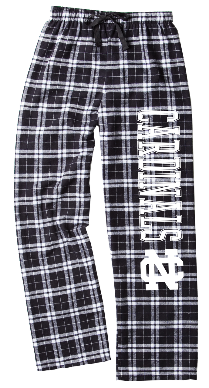 Image for the Flannel Pant Black/White Plaid by Boxercraft product