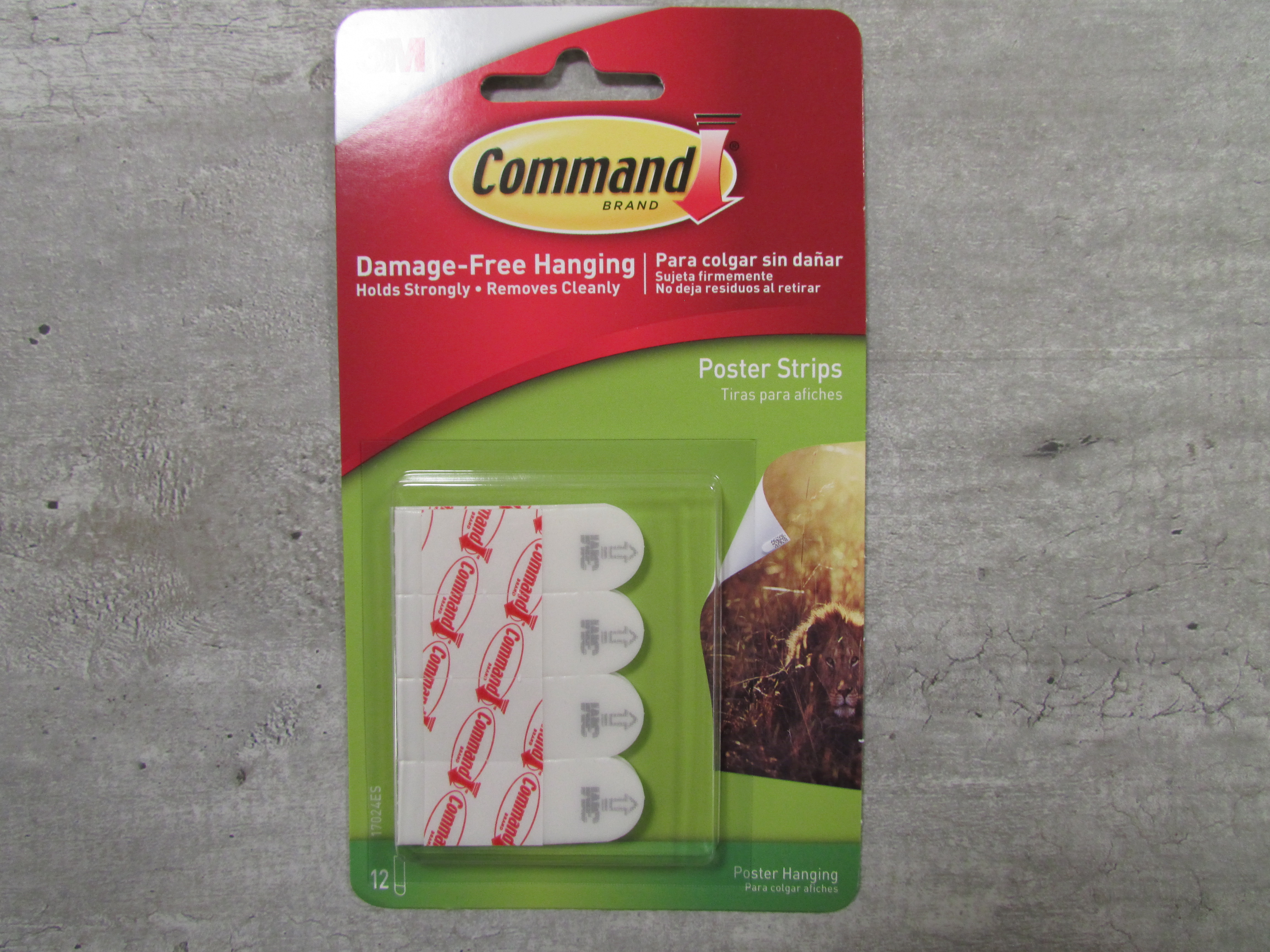 Image for the Poster Strips, Command Adhesive product